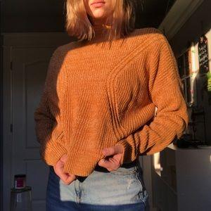 Yellow Knit Sweater